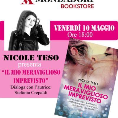 Locandina presentazione Mondadori Bookstore di Padova