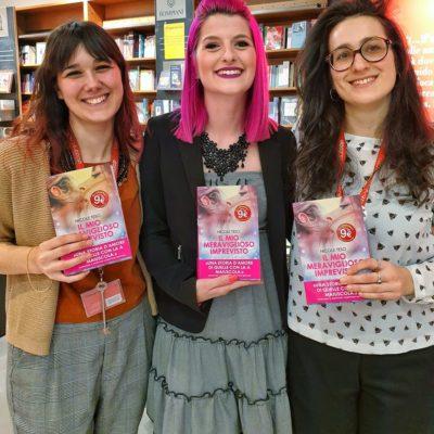 Io e le libraie della Libreria Coop di S. Donà di Piave.