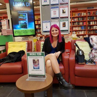 La presentazione alla Mondadori Bookstore di Padova.